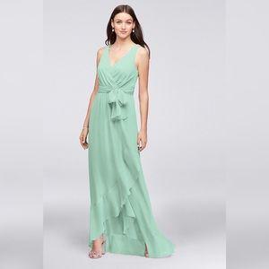 David's Bridal Mint Bridesmaid Dress 👗 NWT